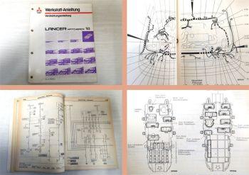 Werkstatthandbuch Mitsubishi Lancer 1993 Schaltpläne Kabelbaum CA60 CA76