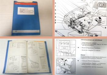 Reparaturleitfaden VW Polo 3 6N 6N2 Heizung Klimaanlage Werkstatthandbuch 2000
