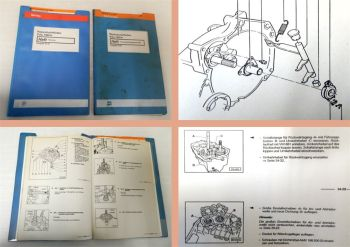 Reparaturleitfaden VW Polo 86c Heizung 4Gang Getriebe 084 Werkstatthandbuch 1994