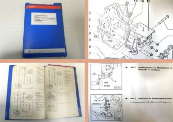 Reparaturleitfaden VW Transporter T4 syncro Werkstatthandbuch 5-GangGetriebe 02G