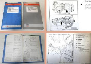 Reparaturleitfaden Audi 100 A6 C4 Werkstatthandbuch Automatikgetriebe 01K CDS ..