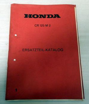 Ersatzteilliste Honda CR125 M2 Enduro Ersatzteilkatalog
