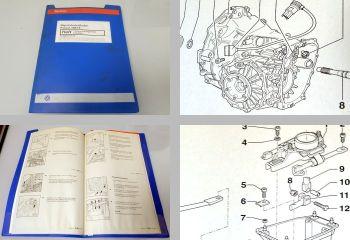 VW Passat B5 3B Repararurleitfaden 5 Gang Getriebe 012 / 01W 1997 - 2000