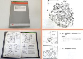 Reparaturleitfaden Audi 80 B4 1992 Automatik Getriebe 01N Wandler Achsantrieb