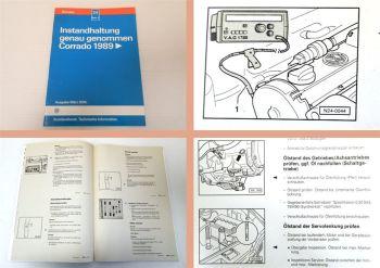 Reparaturleitfaden VW Corrado ab 1989 Instandhaltung Werkstatthandbuch 1994