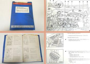 Werkstatthandbuch VW Golf 4 Bora Reparatur 1.9 Vorglühanlage AGR