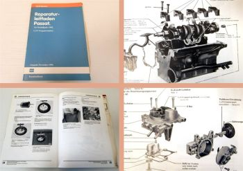 Reparaturleitfaden VW Passat Typ 32b B2 1,3 L Vergaser Motor FY FZ