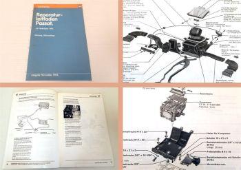 Reparaturleitfaden VW Passat B2 Typ 32B Werkstatthandbuch Heizung Klimaanlage