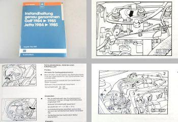 VW Golf 2 Jetta 2 Instandhaltung genau genommen ab 1984 Ausgabe 5/1987