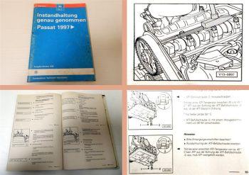 Reparaturleitfaden VW Passat 3B B5 Service Wartung Instandhaltung genau genommen