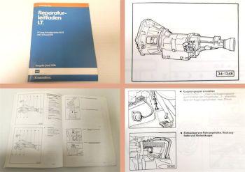 Reparaturleitfaden VW LT28 LT31 LT35  4 Gang Schaltgetriebe 015/I u. Achsantrieb