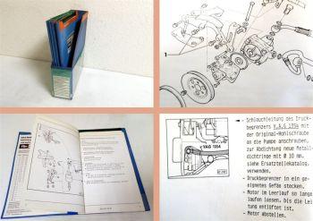 Werkstatthandbuch auf Microfilm Audi Quattro Urquattro Fahrwerk Elektrik Karosse