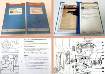 Werkstatthandbuch VW Polo II 86c TLA 1B3 & 2E3 Vergaser + Motor HZ MH NU 2G