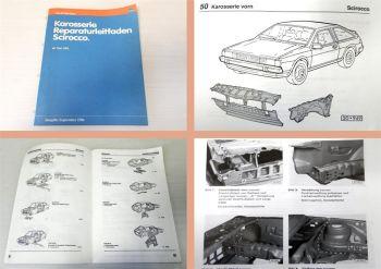 Werkstatthandbuch VW Scirocco 2 ab 1981 Karosserie Instandsetzung