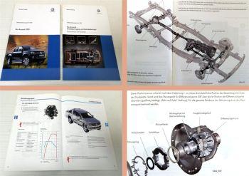 SSP 463 + SSP 464 VW Amarok 2010 Konstruktion Funktion Antrieb