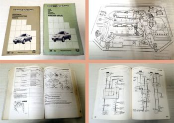 Workshop manual Kia Sephia Shuma 1998 + Elektrical Troubleshooting Manual