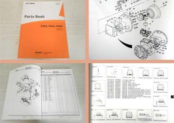 Parts Book Doosan D20G D25G D30G Lift Truck Ersatzeilkatalog 200