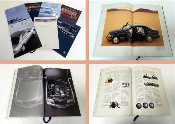Mercedes Benz 200D 420SEC 230TE 230CE 420SEL... Prospekt 7x 1988-1991