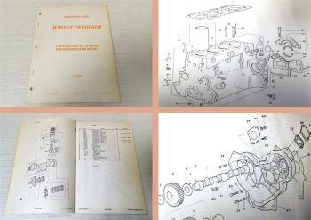 Massey Ferguson MF 487 Ersatzteilkatalog Motor 4.248