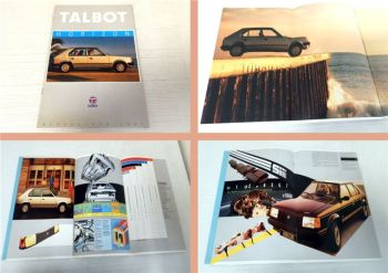 Talbot Horizon LS GL S GLS SX 1981 Prospekt
