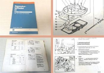 Reparaturleitfaden VW LT 2B6 2E3 Vergaser und Zündanlage Ausgabe 9/88 DL HS