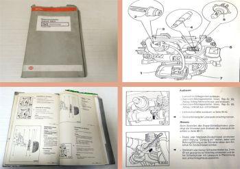 Reparaturleitfaden Audi A4 B5 Elektrische Anlage Werkstatthandbuch 1998