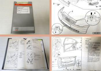 Reparaturleitfaden Audi A3 8L Karosserie Montagearbeiten außen Werkstatthandbuch