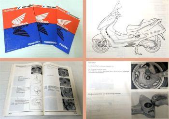 Werkstatthandbuch Honda FES250 Foresight Reparaturanleitung 1997-2000