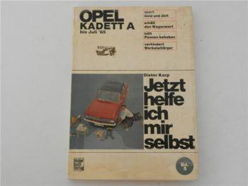 Werkstatthandbuch Opel Kadett A Jetzt helfe ich mir selbst Reparatur 1969