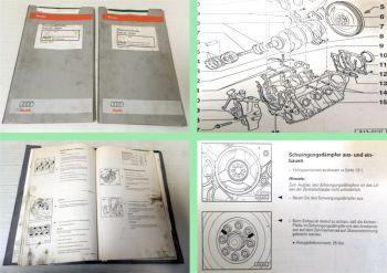 Reparaturleitfaden Audi A6 C5 Werkstatthandbuch 2,5L TDI V6 Diesel Motor AFB