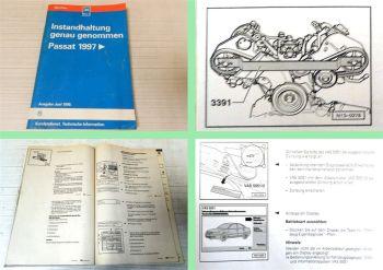 Reparaturleitfaden VW Passat B5 ab 1997 Instandhaltung Wartung Inspektion 1999