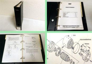 Werkstatthandbuch KMF Nissan A01 Gabelstapler Reparaturanleitung