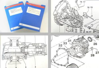 VW Passat B5 3B Reparaturleitfaden Automatisches Getriebe 01V 5 Gang Variant