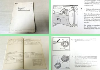 Reparaturleitfaden VW Passat B5 Karosserie Eigendiagnose Airbag