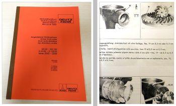 Deutz DX 85 - 160, Intrac, 06er Werkstatthandbuch angetriebene Vorderachsen
