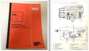 Deutz 5206 - 13006, 2807 - 5207, Intrac, DX 3 Regelhydraulik Schulungshandbuch