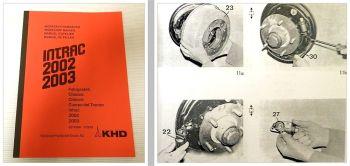 Reparaturhandbuch Deutz Intrac 2002, 2003 Werkstatthandbuch Fahr