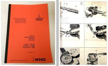 Deutz 3006 - 13006 Intrac 2003 2004 DX85-160 Lenkung Werkstatthandbuch