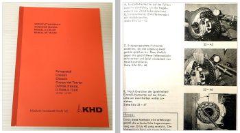 Reparaturanleitung Deutz D6006 D6806 D7006 D7206 Werkstatthandbu