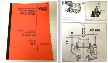 Deutz DX 80-92, 4.10-4.70, 6.10-6.50 Werkstatthandbuch angetriebene Vorderachsen