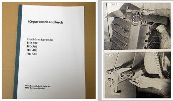 Werkstatthandbuch Deutz Fahr HD300, 360, 400, 500 Reparaturanleitung 1975