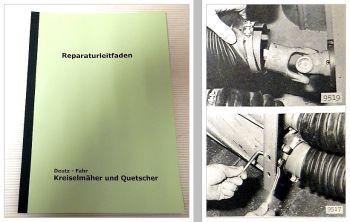 Werkstatthandbuch Deutz Fahr KM 20 22 25  400 TC Kreiselmäher Re