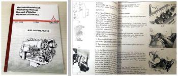 Deutz BL/ FL 911 FL 912/W  913/G/C/T Motor Werkstatthandbuch Reparaturhandbuch