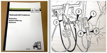 Deutz DX3.10 - 3.90 DX4.10 - 4.70 DX6.05 - 6.50 Hydraulik Schulunghandbuch 1990