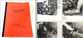 Deutz D 2807, 3607, 4507, 4807 ... DX 4.10 - 6.50 Werkstatthandbuch