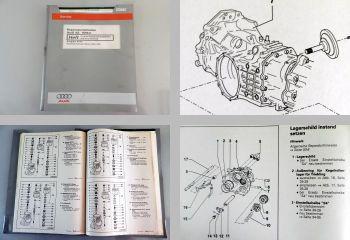 Audi A6 C5 4B Avant 1998 Reparaturleitfaden 5 /6 Gang Schaltgetriebe 01E DQS DSE
