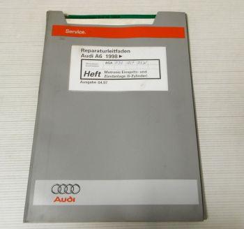 Reparaturleitfaden Audi A6 C5 4B Avant 1998 Motronic AGA AJG ALF ALW 2.4l 6 Zyl.