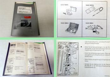 Werkstatthandbuch Audi 80 B4 Digifant Einspritz- und Zündanlage ABK bis 6.93