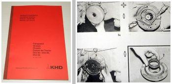 Reparatur Deutz 2506 3006 4006 4506 5006 5506 6206 Werkstatthandbuch Fahrgestell