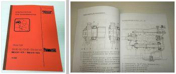 Deutz DX 80 - DX 160, 4.30 - 4.70, 6.10 - 6.50 Schulungshandbuch Getriebe
